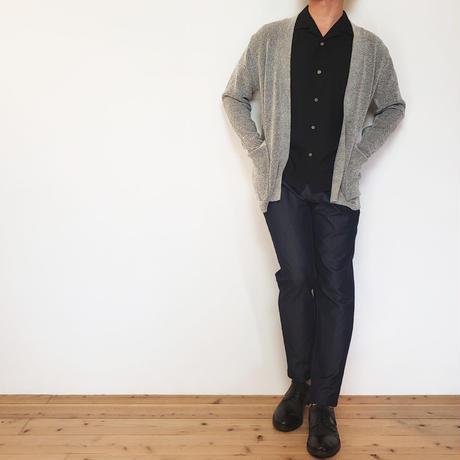 ブークレニット長袖カーディガン/ グレー / 201-1444-02