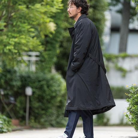 中綿タイロッケンコート/ ブラック /202-1102-13