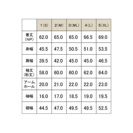 メランジクルーネック長袖TEE / ブラック / 192-1321-03