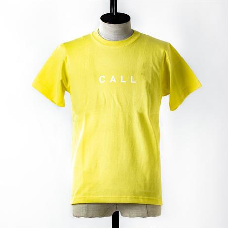 CALLロゴ半袖TEE /  CALL & RESPONSE / 191-1324-11 YEL/PNK/L.BLU