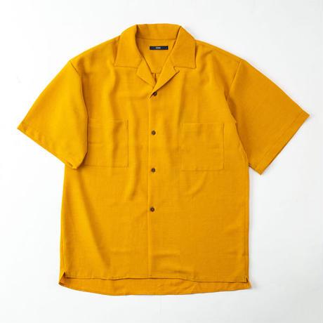 半袖オープンシャツ HR42761 BEG/PINK/BLK
