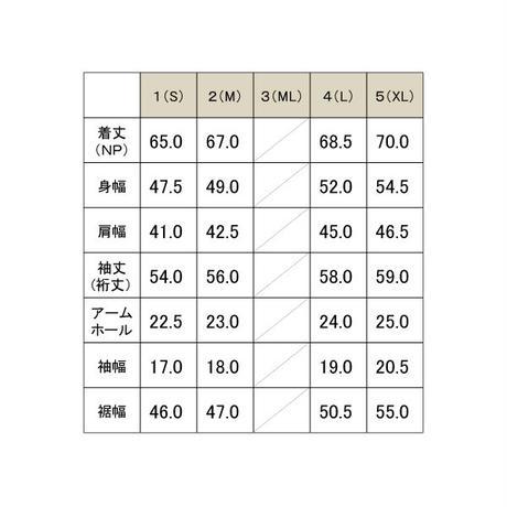 マイクロピケ長袖シャツ / グレー / 192-1211-06