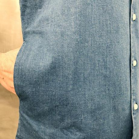 ソフトデニムシャツ/ ライトブルー / 201-1211-02