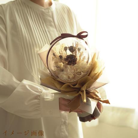 【クリスタルブーケ  】ピンクローズ
