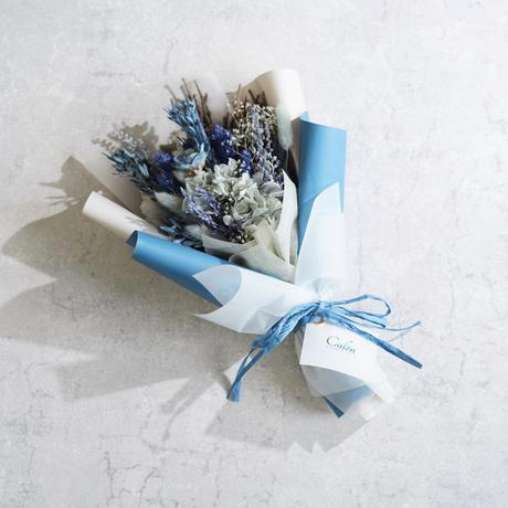 【コバルト】ドライのミニ花束