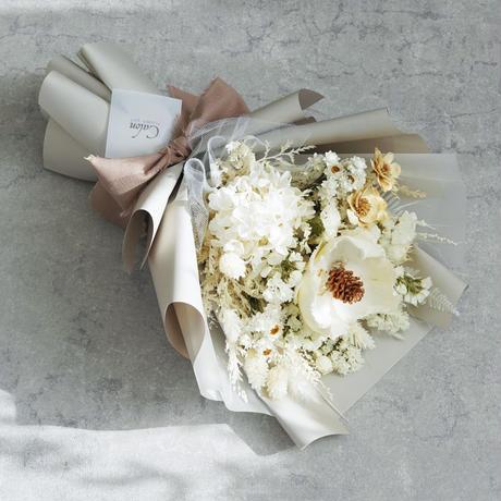 【パームホワイト】 白の花束