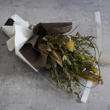 【Calonの花束】蜃気楼~Shinkirou~ ドライフラワーの花束
