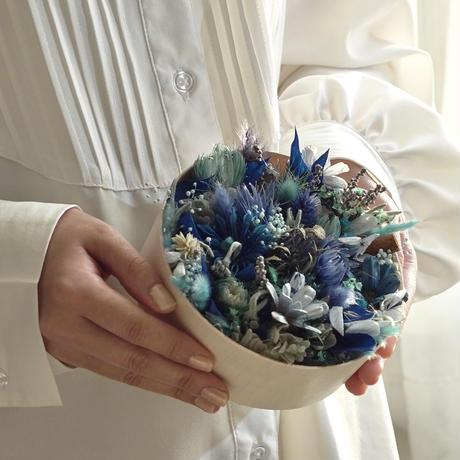 【Calonの花畑フラワーBox】ブルー系