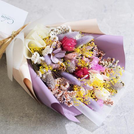 【カラーフロー】ドライのミニ花束