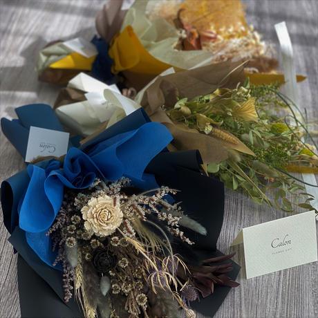 【Calonの花束】凪~Nagi~ ドライフラワーの花束