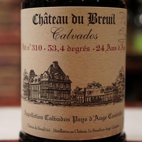 再入荷5本!2016年発売、オリジナルカルバドス第5弾。Château du Breuil 24y,53.4% Cask No,310