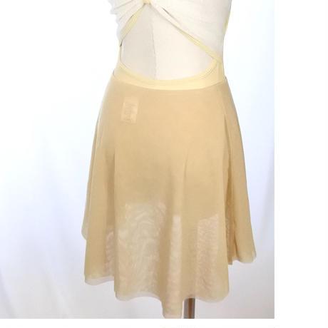 Reversible Skirt (Double Beige)