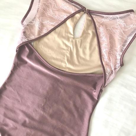 Romantic Leotard  /rose purple