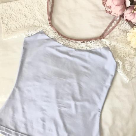 LavenderWhite Lace Tops