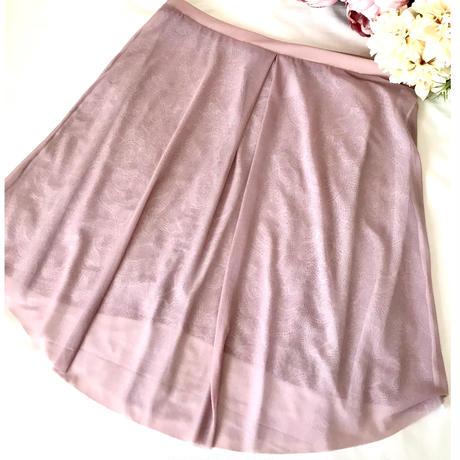 Reversible Lace Skirt (Mellow Mauve)