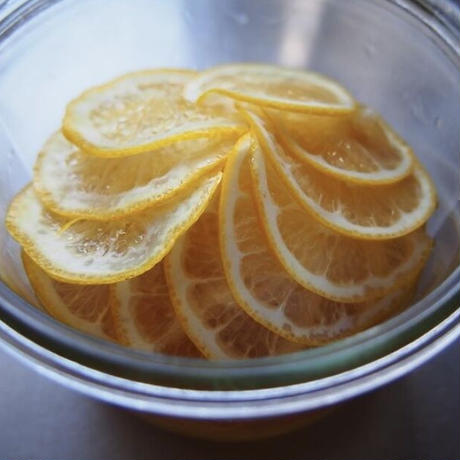 おやつ「レモンのお菓子」