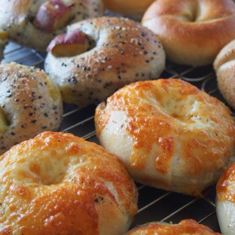 「パンと料理」ベーグル