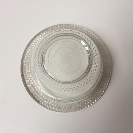 1950年代 ボンボニエール キャンディー入れ ガラス製 パールスカラップ 業務用