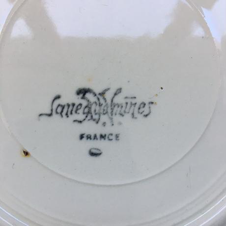 1920年代 サルグミンヌ 花リム デザートプレート 19cm Bランク 1−6