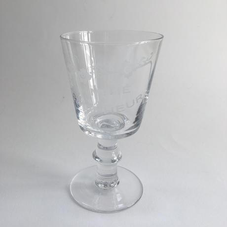 19世紀 レプリカ 吹きガラス アミティエ ボンヌー ワイン・グラス