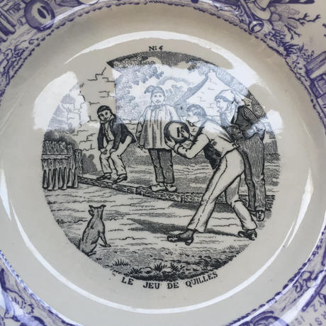 19世紀 ショワジー・ル・ロワ H・ブーランジェ おしゃべりなお皿 年中行事 1−9