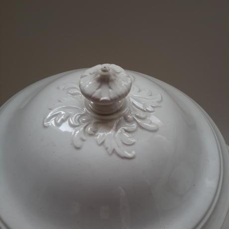 19世紀後半 クレイユ・エ・モントロー スーピエール 白陶器