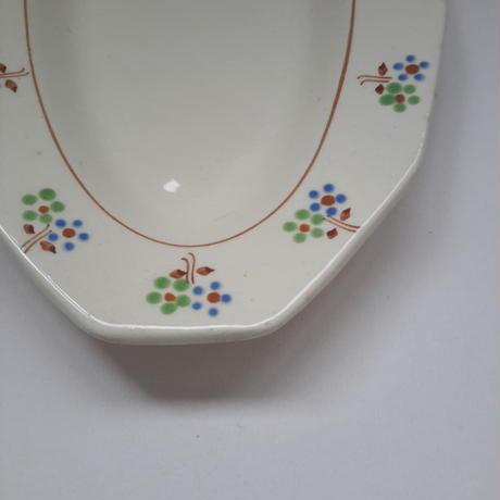 1930年代 サンタマン ラヴィエ ドデカゴナル 小花柄 1−2