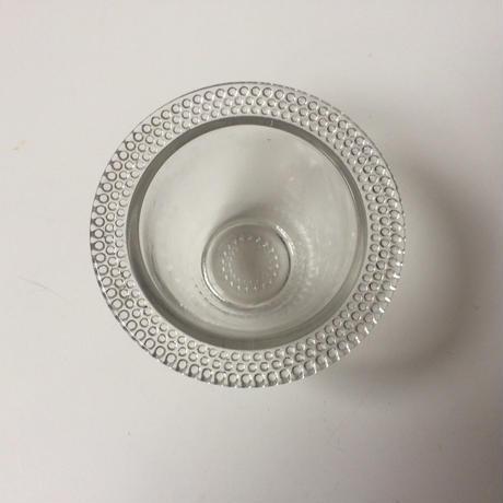 1950年代 ムタルディエ マスタード入れ ガラス製 パールスカラップ 業務用 2