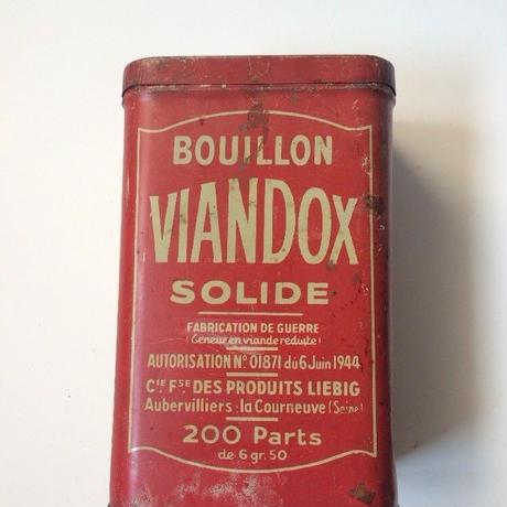 1940年代 ヴィアンドックス 缶 ティン缶 2