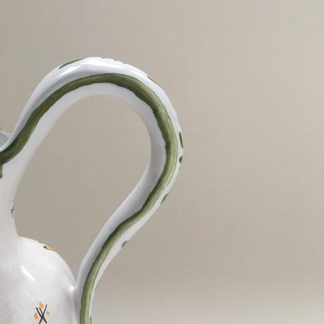 20世紀 ヴィンテージ ムスティエ ラリエ窯 一輪挿し