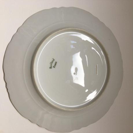 1960年代 リモージュ アヴィラン ディナー・プレート 白磁器 1ー3