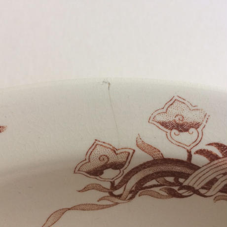 19世紀後半 サルグミンヌ プレート プラ 大皿 ジャネット