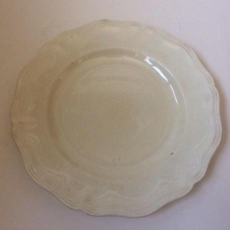 1920年代 サルグミンヌ アシエット 平皿 花リム