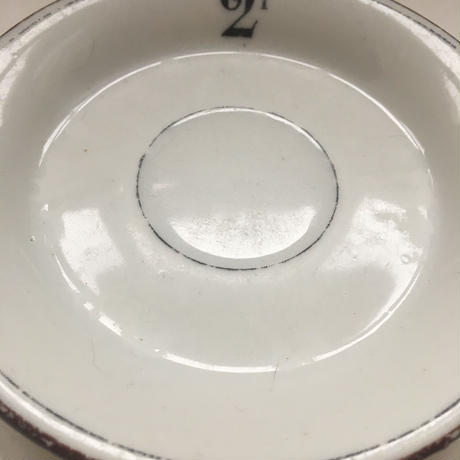 19世紀 スークープ ビストロ用 アプサン用 ソーサー 1−3