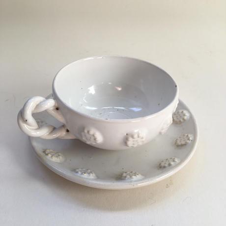 マリコルヌ エミール・テシエ カップ&ソーサー ボタン