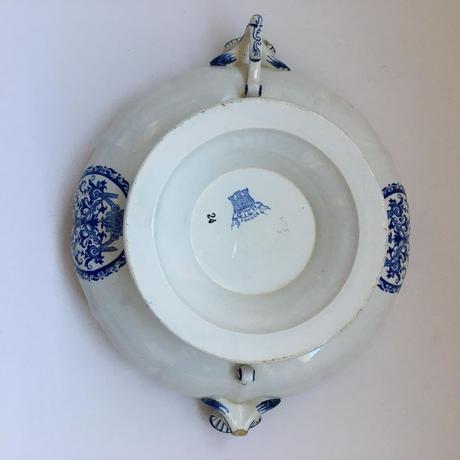 1930年代 ジアン オリエンタル柄 レギュミエ ブルー