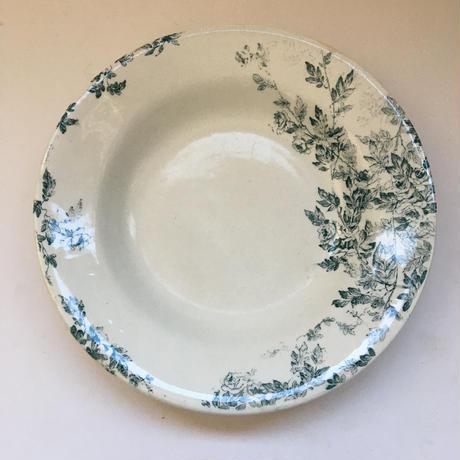 19世紀 クレイユ・エ・モントロー エグランティーヌ スーププレート Bランク 1−4