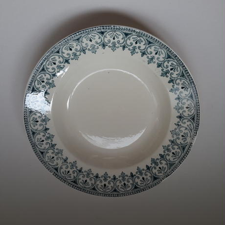 19世紀 バドンヴィレー オリエンタル スーププレート 1ー11