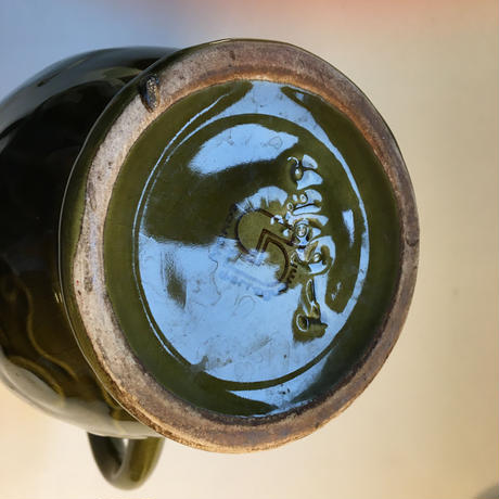 1970年代 サルグミンヌ ワイン・ピッチャー グリーン Mサイズ