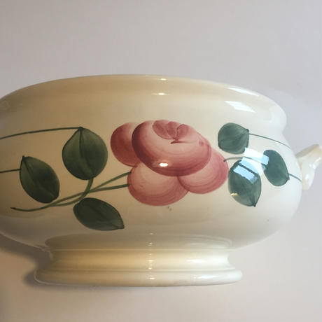 1920年代 HBCM ショワジー・ル・ロワ クレイユ・エ・モントロー スーピエール フランソワ 薔薇柄