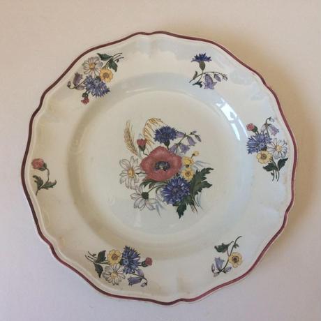 1920年代 サルグミンヌ ディナープレート お皿 アグレスト 1