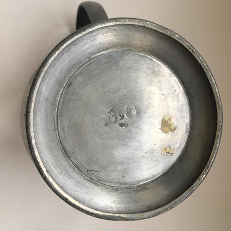 1940年代 ウーゾー・エ・カンパニー エタン製 ピシェ 水差し パール