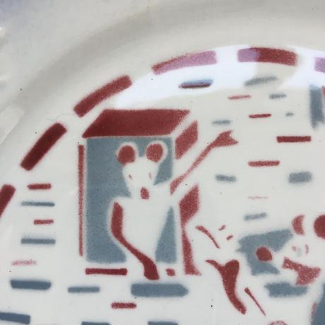 1930年代 カストル バルボティーヌ デザート・プレート ミッキー 1-2