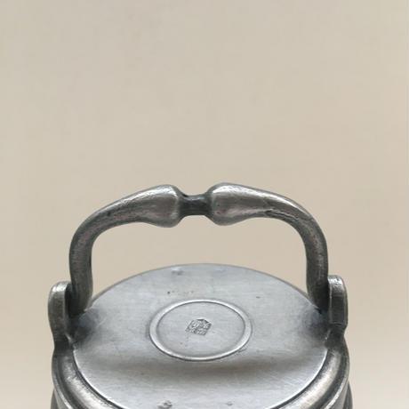ライオンとお城 百合の紋章 スープ・ジャー エタン製