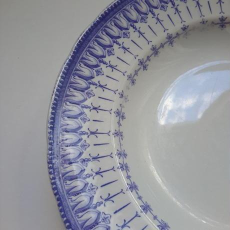 19世紀半ば クレイユ・エ・モントロー ルブーフ・ミリィエ  ロカイユ スープ・プレート 深皿 3