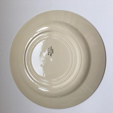 1920年代 HBCM ディナー・プレート 生成り 1-10