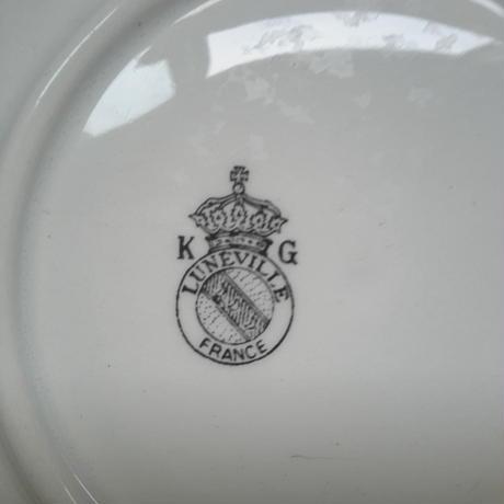 1970年代 リュネヴィル ティーカップ カップ&ソーサー