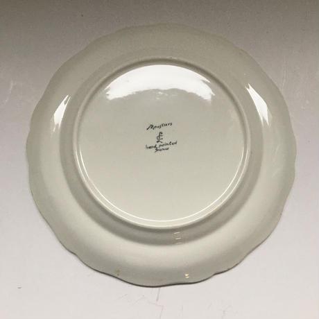 1970年代 ロンシャン ムスティエ柄 ディナープレート Lサイズ 1−2