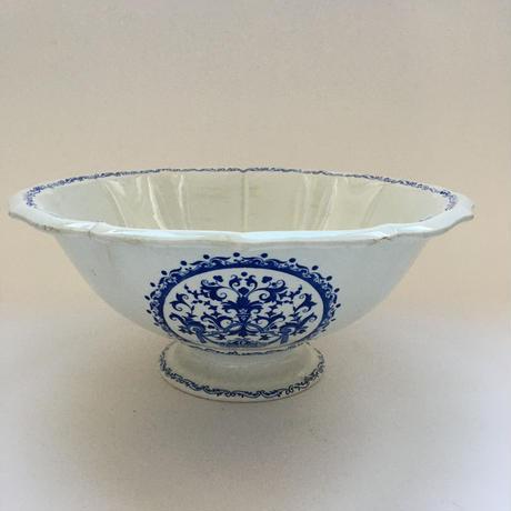 19世紀 ジアン メダイヨン サラディエ ブルー