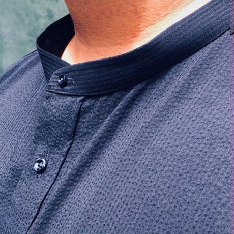 たろlong shirt(タロ ロング シャツ)ネイビー TLS-003